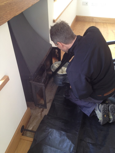 Wyedean Chimney cleaning & maintenance